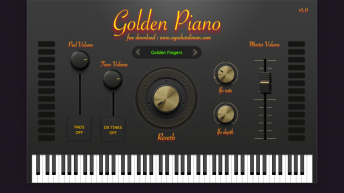 Golden Piano VST, the free piano vst from MonsterDAW